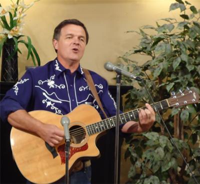 Roger Tibbs, country singer/yodeler from New Zealand.
