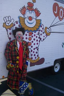 Ron Yarborough, Circus Clown
