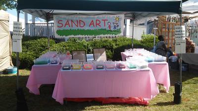 Sandy Fun Sand Art