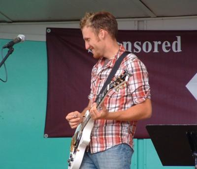 This was me playing at the Ionia Free Fair