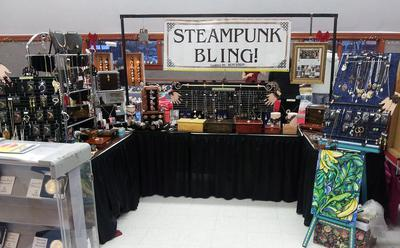 Silver Lining Treasures Booth