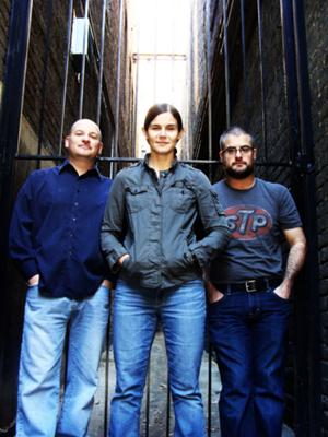 Simone Durand Trio, L-R (Dave Evans, Simone Durand, Ted Perry)