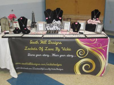 My South Hills Display Table.