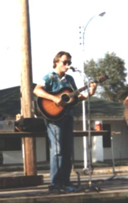 At a county fair in the 1990's.