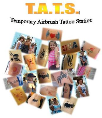 T.A.T.S Temporary Airbrush Tattoo Station
