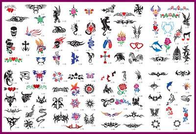 Temporary Airbrush Tattoos