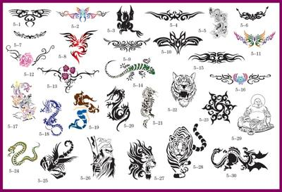 Temporary Airbrush Tattoos