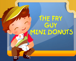 The Fry Guy Mini Donuts