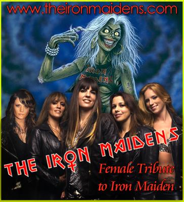 World's only female tribute to Iron Maiden