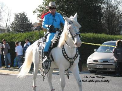 The Lone Ranger Look Alike Personality Maryland