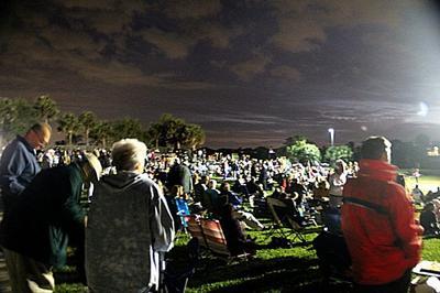 Carlin Park Seabreeze Amphitheater crown shot.