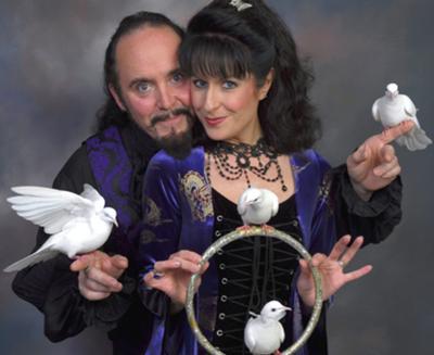 Markus & Angelique Steelgrave, Multi-Award-Winning Magical Duo