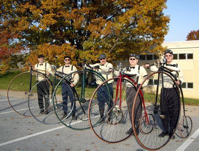 The Victorian Highwheelers of Tamaqua, PA