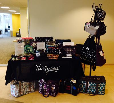 Vendor Fair with 1 table setup.