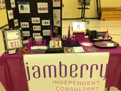 My Jamberry Setup