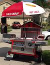 Custom Made Hot Dog Cart