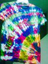Uniquely Twisted Tie Dyeing