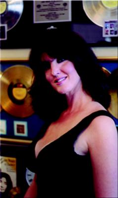 TJ in Producer's Office in Nashville at the Release of Her Album, Every Once In A Blue Moon-2005