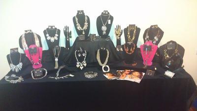 Patricia's Traci Lynn Jewelry Table
