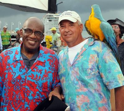 Tropical Bird Entertainer with Jim & Bob The Bird