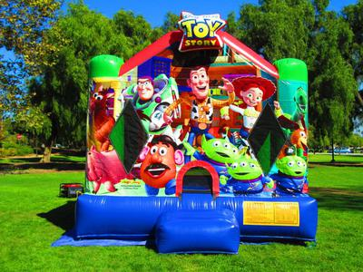 Toy Story bounce house.