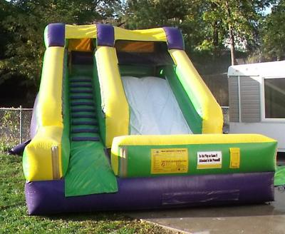 Inflatable Wet/Dry Slide.