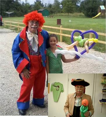 Ask about this circus clown photo when you call.