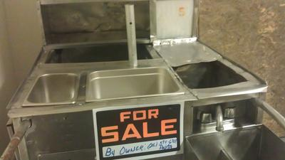 Two 1993 Hot Dog Carts Fully Loaded Cleveland Ohio