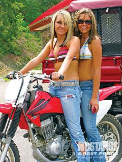 Two Biker Chics