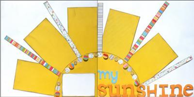 My Sunshine - Ready to Assemble - Scrapbooking Kit