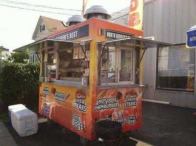 Used Enclosed Food Cart