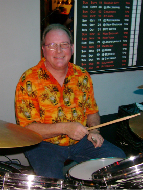 Glen Beitzel - drums, percussion.