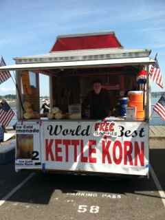 Kettle Korn Concession Trailer