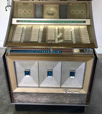 1965 AMI Rowe Jukebox