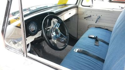 Interior of Classic 1966 Ford Truck