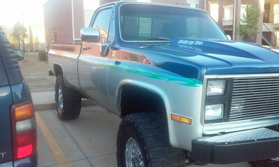 1984 Lifted Chevy