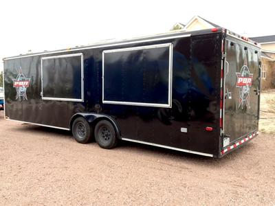 26 Ft. Vending Trailer With AC, Shower, Toilet, More