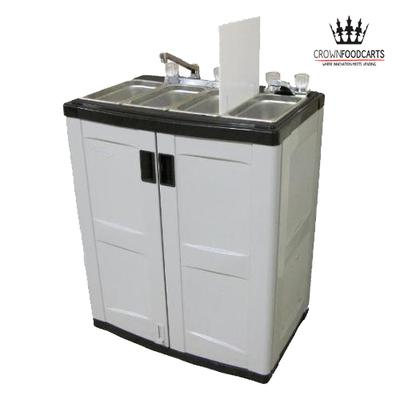 4 Bay Mobile Vending Sink