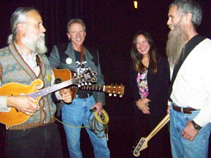 Backstage at the Lair Auditorium in Spokane, WA