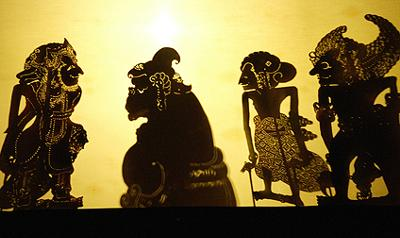 See the lacy shadows of Wayang Kulit Shadow Play in English, accompanied by a live gamelan ensemble.