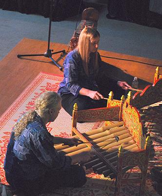 Enjoy the beautiful bamboo sounds of the Tiklik.