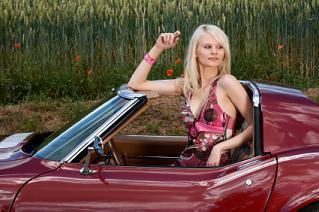 Car Show Girl Mindy