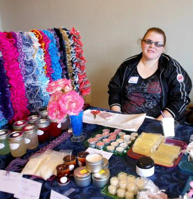 Me and my crafts at the Fablous Fox Island in Gig Harbor , WA.
