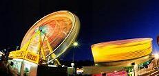 Festival Fair at Night