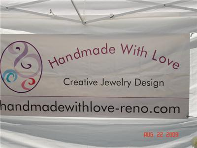 10x10 Tent with Banner