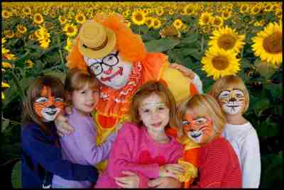 Houston Clown School and Kibbey The Clown