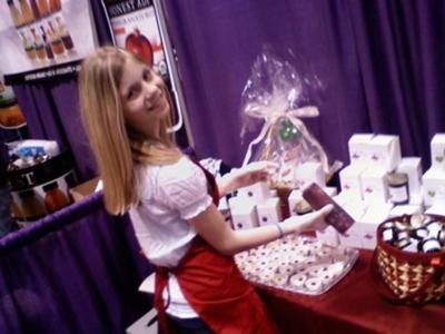 At NW Womens Show in March '10