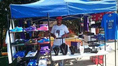 Booth at Godstock 2015
