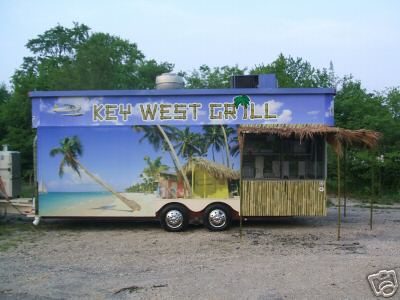 Key West Grill Trailer