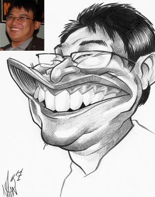 Over The Line Productions - Caricatures